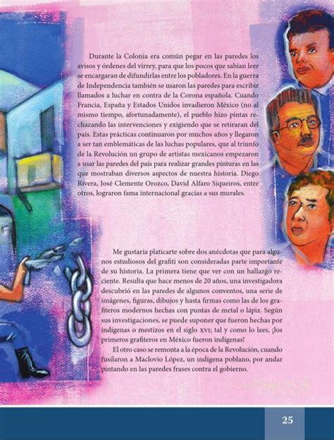 espaol lecturas cuarto grado 2015 2016 libros sep espa 241 ol lectura 6to 2014 2015