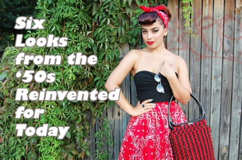 a look at 1950 s 1950s s fashion style for 21st century