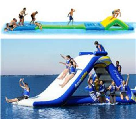 lake toys for adults pehrson s lodge announces new aqua playground on lake vermilion in northern minnesota