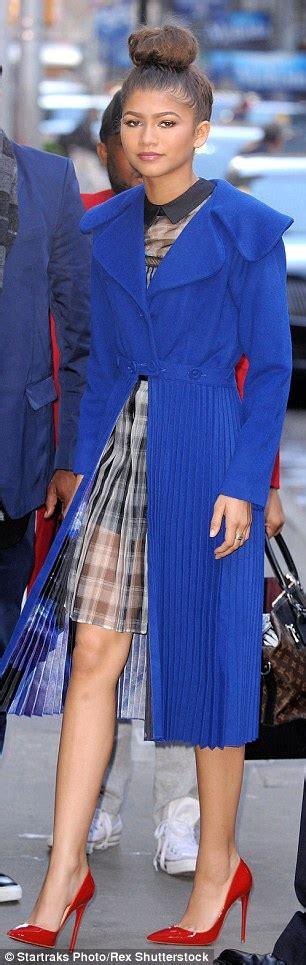 lil pump zendaya zendaya reveals how she penned response to the fashion