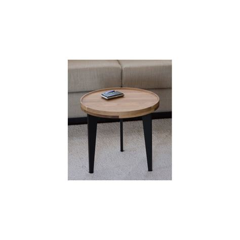 Table Basse En Chene Massif by Table Basse D Appoint En Ch 234 Ne Massif L40cm H38cm