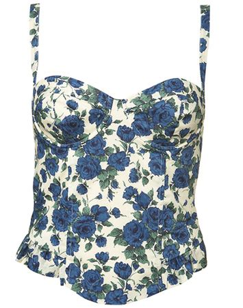 Yay Or Nay Topshops Floral Print Top by My Fashion