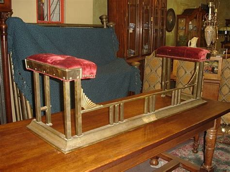 fireplace fender bench french antique fireplace fender bench antique furniture