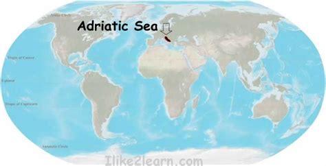 adriatic sea map adriatic sea