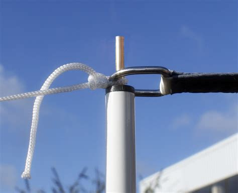 Sail Shade Pole Kit 2.5m   with guy rope £19.99