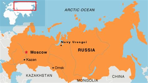 russia on map russia