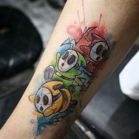 mario tattoo you instagram 17 best images about nintendo tattoos i like on pinterest