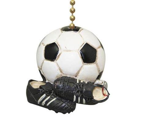 soccer ceiling fan craftmade 406 soccer ball sphere shaped fan glass shade