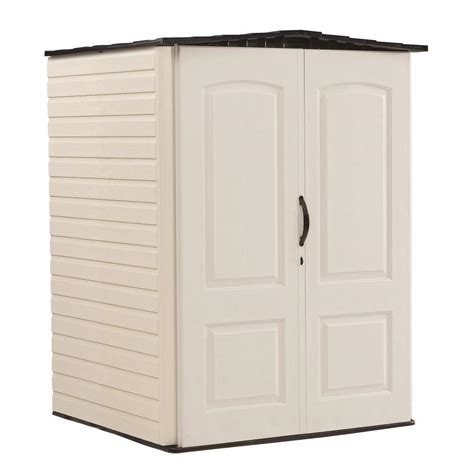Home Depot Storage Sheds Rubbermaid by Rubbermaid 4 Ft 3 In X 4 Ft 5 In W Medium Vertical