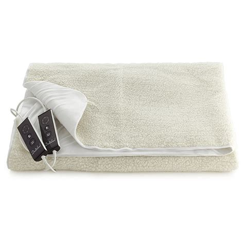 Electric Blankets And Pacemakers by Dreamland Luxury Fleece Fitted Electric Heated Blanket