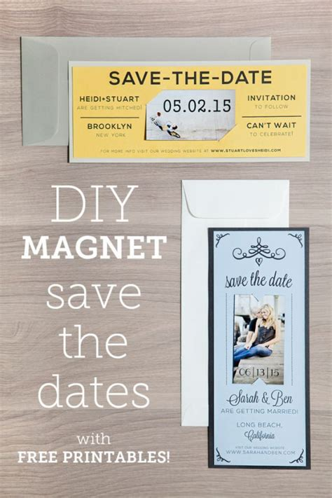 free save the date magnet templates 220 best images about freebies printables downloads on