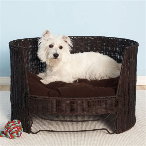 fancy dog bed fancy dog day bed with indoor cushion