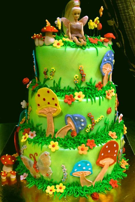 Fairy World Cake