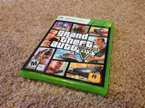 Xbox One Gta V Originall unboxing gta 5 for xbox 360