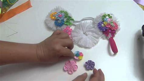 tutorial de yoga para niños como hacer flores para lazos de nia como hacer lazos mo