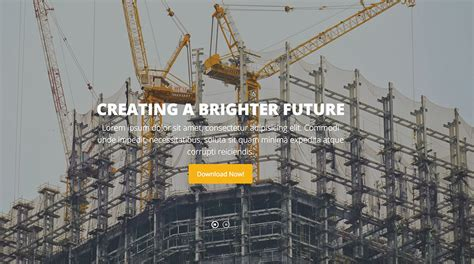 free html5 construction template 10 free bootstrap construction company website templates 2018