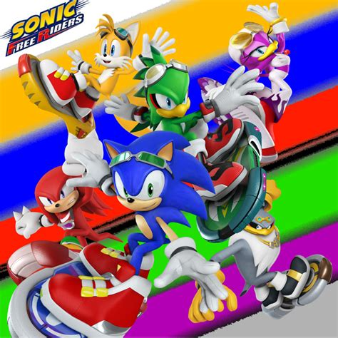 sonic painting free wallpaper sonic free riders by dablackblur on deviantart