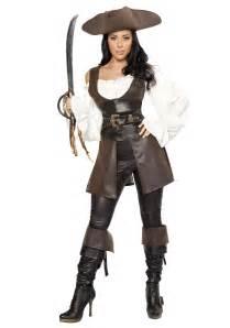 halloween pirate costumes women s deluxe swashbuckler costume