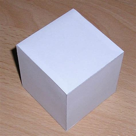 How To Make A Paper Cube - how to make a paper cube