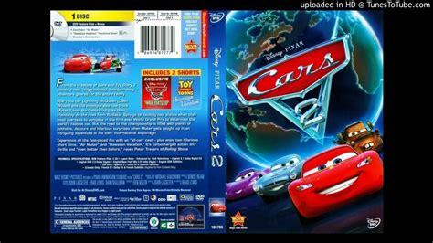 Disney Pixar Cars 2 Vision Original Dvd cars 2 dvd menu