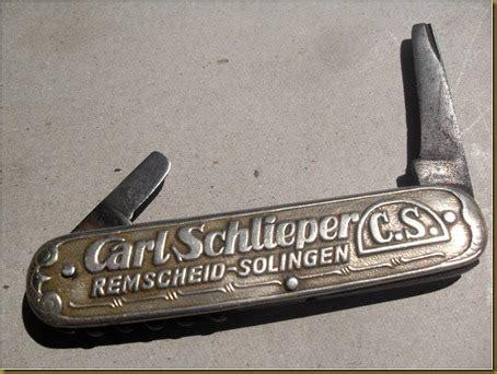 KOLEKSI BARANG ANTIK: Pisau Lipat Carl Schliper Remscheid