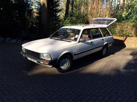 peugeot cars 1985 1985 peugeot 505 sx 8 seater sold car and