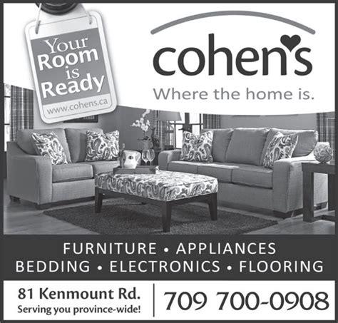cohen s home furnishings ltd 81 kenmount rd st s nl