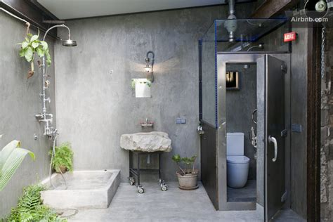 Industrial chic bathroom www pixshark com images galleries with a bite