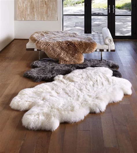 flokati rugs sydney 15 ideas to decorate with a sheepskin rug custom home design