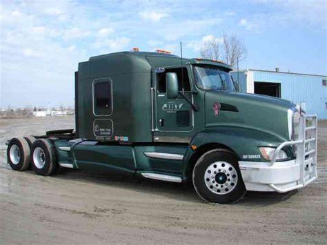 kenworth t660 kenworth t660 2008 sleeper semi trucks