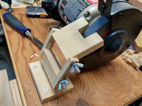 bench grinder tool rest by bit101 lumberjocks com