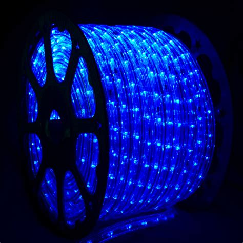 light blue led lights blue led rope light