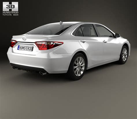 Toyota 2015 Models Toyota Camry Xle 2015 3d Model Humster3d
