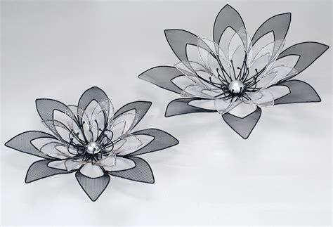 wanddeko blumen formano metall bilder wapdesire wapdesire