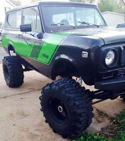 international harvester scout 1977, im am selling my !977