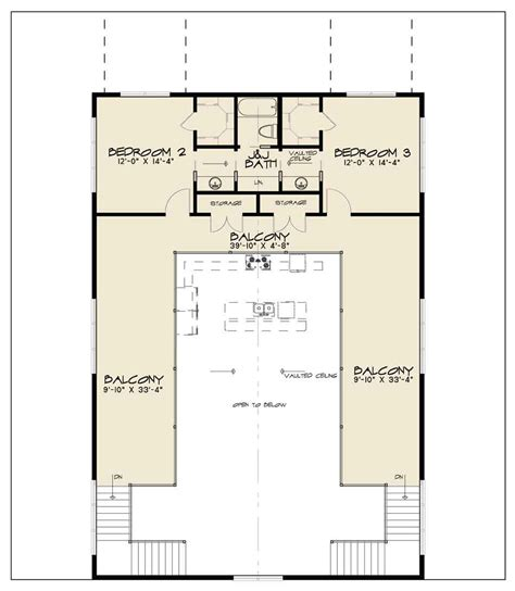 barn manor floor plan barn style house plan 1014 barnwood manor ndg