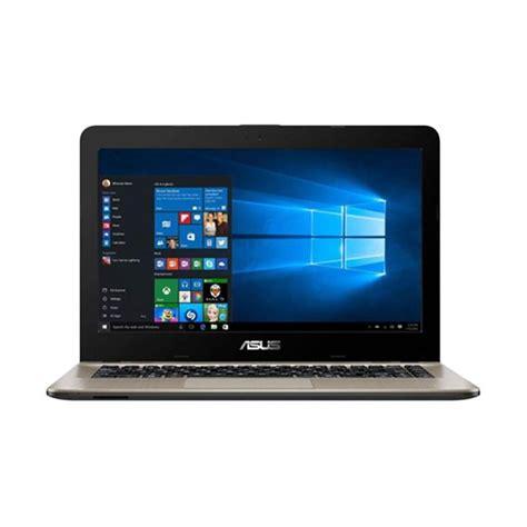 Asus X441na N3350 Windows 10 Original Garansi Resmi 1tahun jual asus x441na bx401t black intel n3350 dual 4gb 500gb intel hd graphics 500 14 quot hd