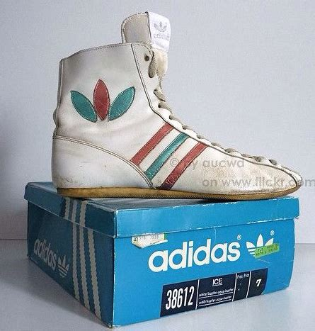 fancy vintage adidas boxing shoes