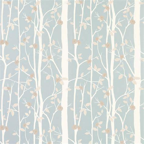 cottonwood duck egg leaf wallpaper laura ashley
