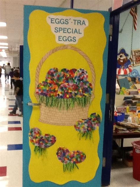 Easter Classroom Decorations by Easter Door Classroom Pics