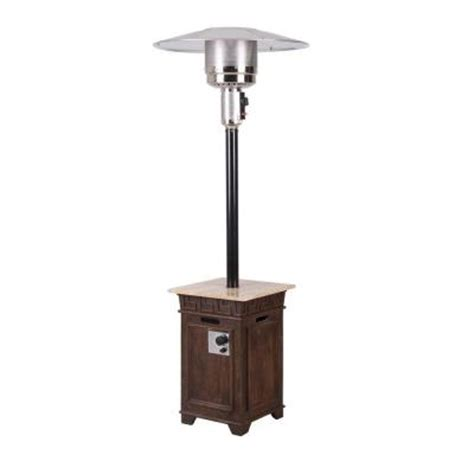 Propane Patio Heaters Home Depot Bond Manufacturing Sonoma Envirostone Marble 40 000 Btu Propane Gas Patio Heater 67515 The