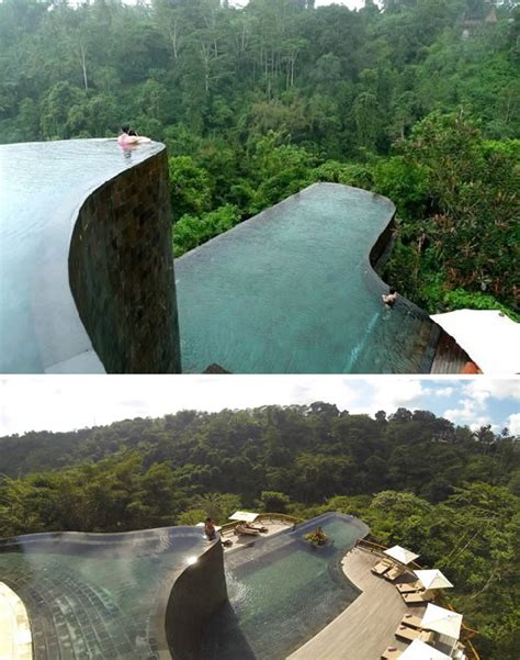 hanging gardens infinity pool 10 most awesome suspended pools oddee