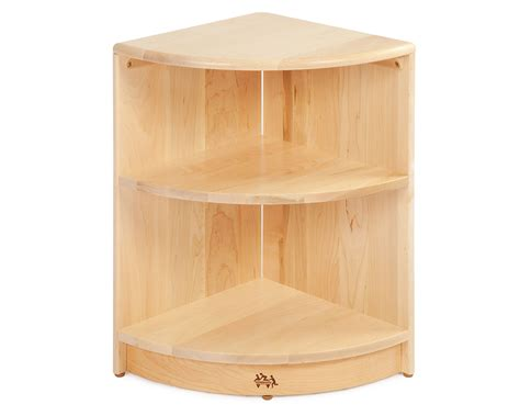 Corner Storage Shelf by Communityplaythings F673 24 Corner Shelf