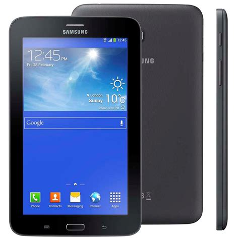 Tablet Samsung Dual tablet samsung galaxy tab 3 lite smt111m preto tela 7