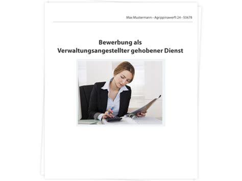 Archivdienst Gehobener Dienst Bewerbung Verwaltungsangestellter Gehobener Dienst Bewerbung Tipps Zu Anschreiben Lebenslauf Und