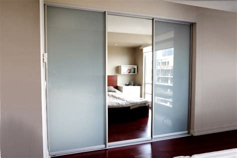 Sliding Glass Mirrored Closet Doors Space Solutions Toronto Custom Closet Doors Custom Sliding Doors Custom Room Dividers