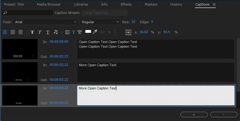 adobe premiere pro subtitles learn to work with captions in premiere pro