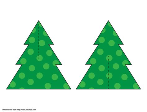 printable paper christmas tree 3 ways to make a paper christmas tree wikihow