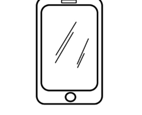 Iphone 8 Coloring Page by Iphone Coloring Pages Clipart Best