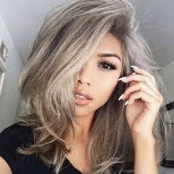 images grey and blond hair blend cheveux blond gris
